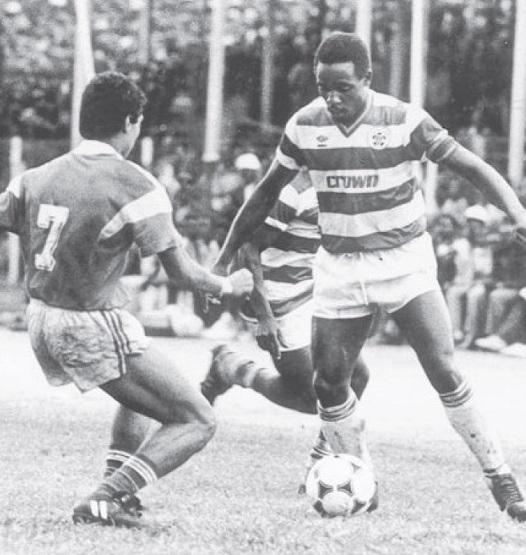 Wilberforce Mulamba vs Al Ahly in 1987