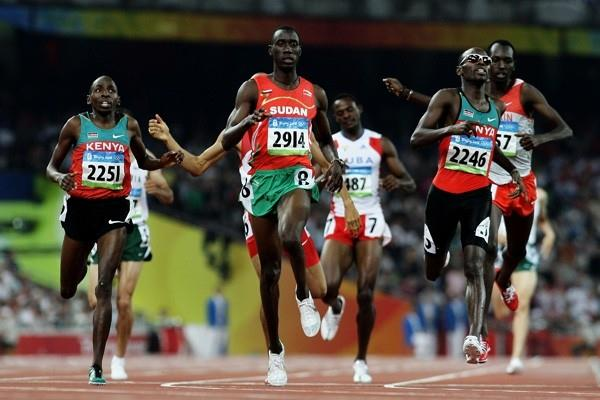 Wilfred Bungei 2008 Olympic gold