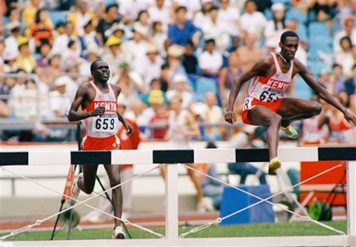Julius Kariuki 1988 Olympic gold