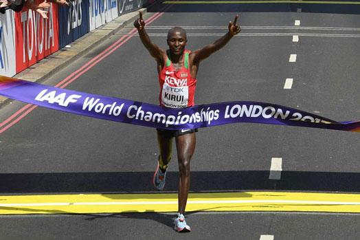Geoffrey Kirui world champion