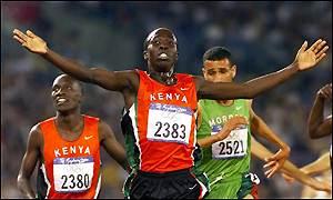 Reuben Kosgei 2000 Olympics