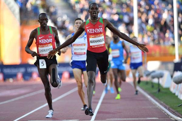 Elijah Manangoi 2018 Commonweath Games