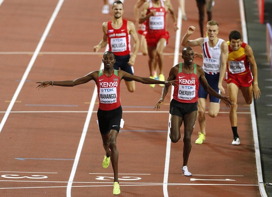 Elijah Manangoi world champion