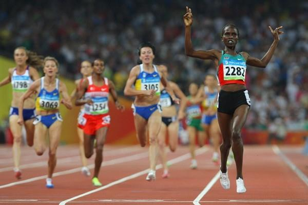Nancy Lagat Olympic gold