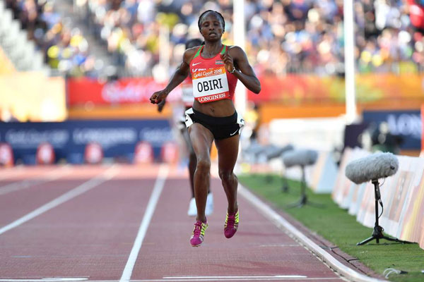 Helen Obiri 2018 Commonwealth games