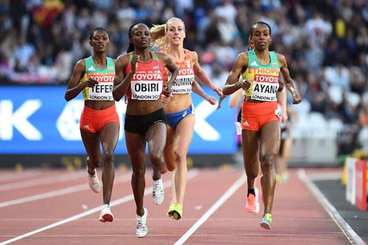 Hellen Obiri world champion