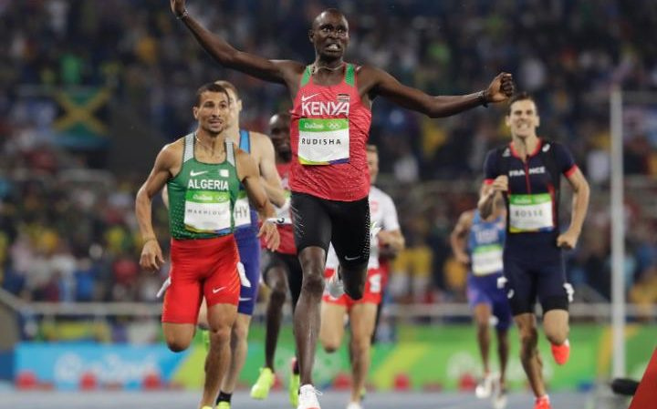 Rudisha 2016 Olympics