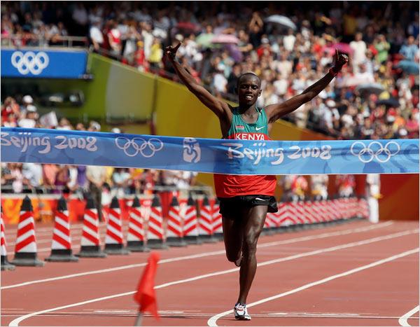 Sammy Wanjiru 2008 Olympic gold
