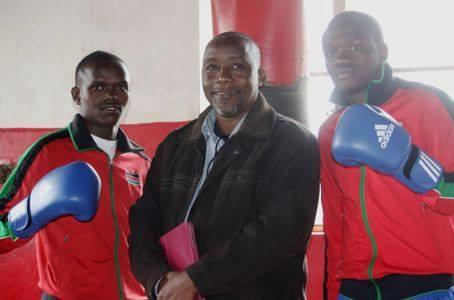 Benson Gicharu and Rayton Okwiri.Image courtesy of AIBA