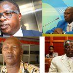NOCK officialsClockwise from top left: Stephen arap Soi, Ben Ekumbo, Kipchoge Keino and Francis Paul