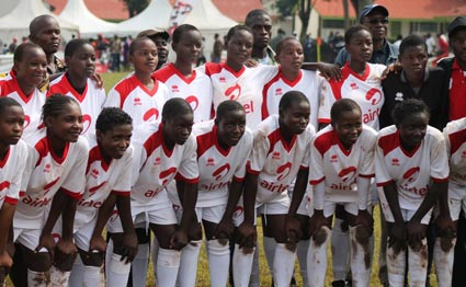 Butere girls,  Kenya National schools football champions 2014