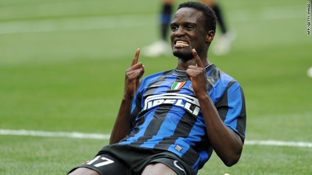 Mcdonald Mariga Inter Milan