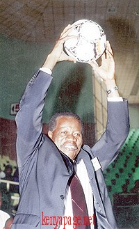 Alfred Sambu KFF Chairman