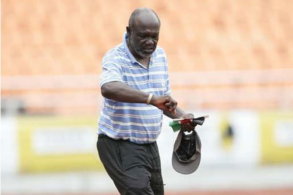 On assignment as Gor Mahia coach