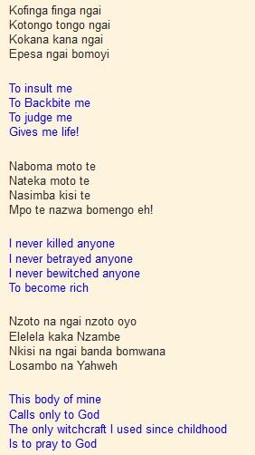 Muzina By Tabu Ley Lyrics And Translation Kenya Page Blog