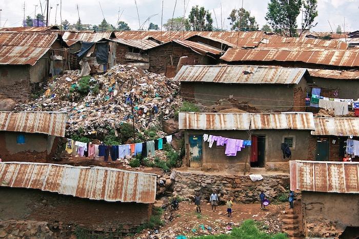 Kibera garbage