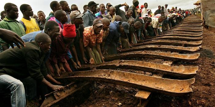 Kibera Railway uprooted