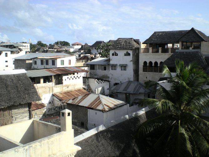 Lamu swahili architecture