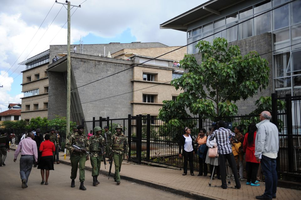Pictures of the disastrous Strathmore University Emergency