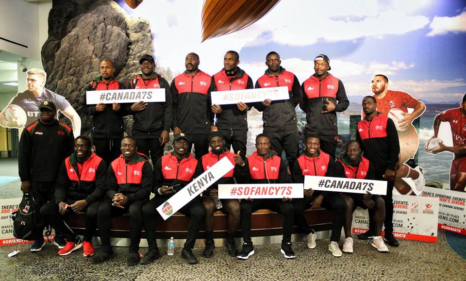 Kenya at the 2018 Canada sevens | Kenya Page Blog