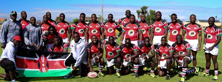 Team Kenya for the 2014 Vodacom Cup