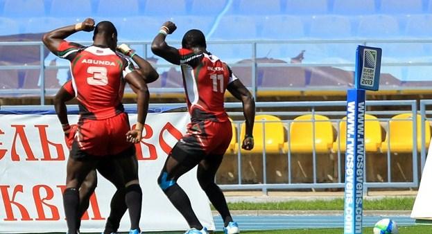 Kenya vs Samoa 2013 world cup sevens