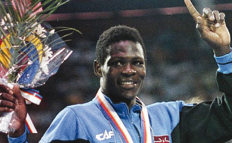 Robert Wangila 1988 Olympic gold